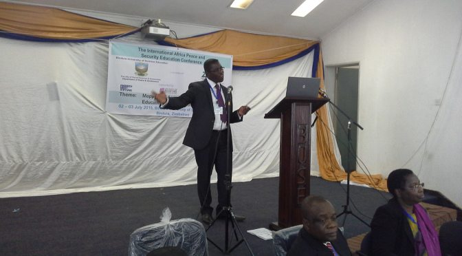 Reflections on Peace Education - Conceptual & Operational Dilemmas (Zimbabwe)