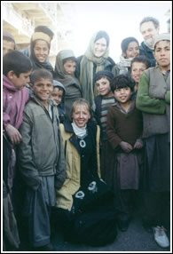 September 11th Families for Peaceful Tomorrow's visit to Afghanistan in 2002.