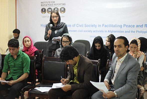 Afghan, Philippine Activists Find Common Ground