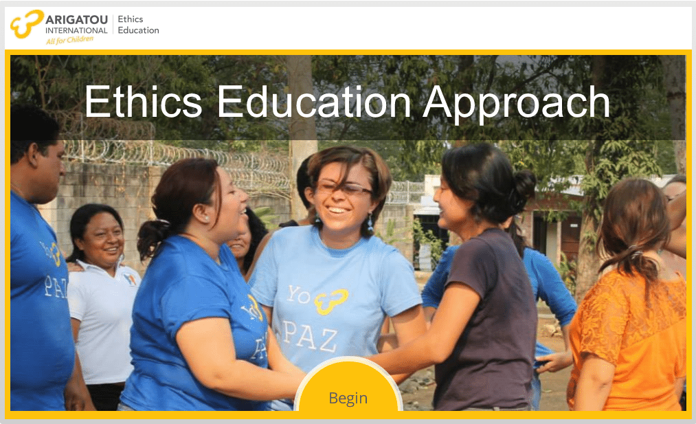 Ethics Education Framework: Arigatou International