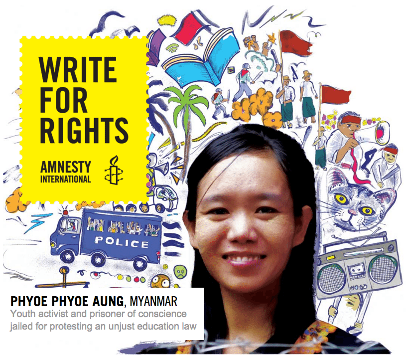 Amnesty International: Write for Rights Campaign