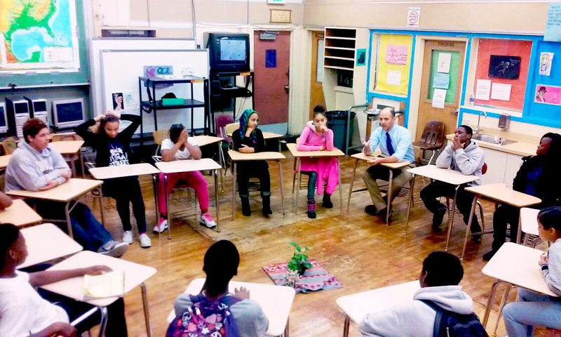 What If Every High School Had A 'Justice Program' Instead Of A Cop? (NPR)