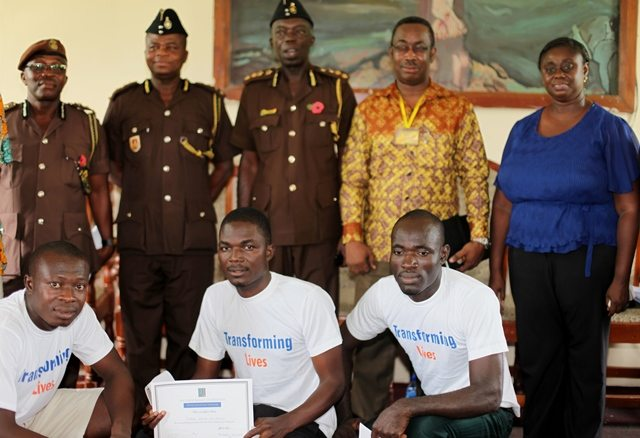 Prisoners schooled on Peace Education (Ghana)