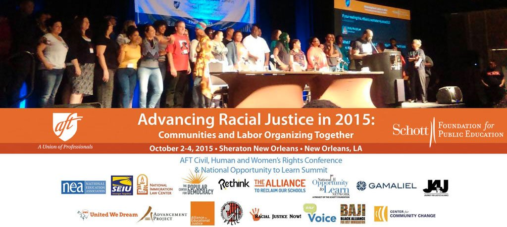 Advancing Racial Justice in 2015: A Weekend of Movement Building in New Orleans