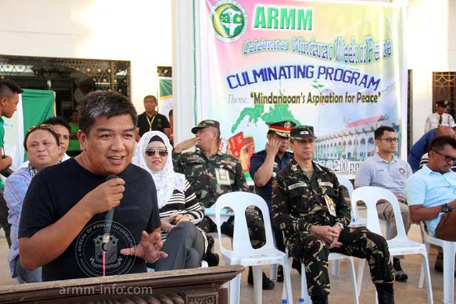 Autonomous Region in Muslim Mindanao calls for support for Peace Education