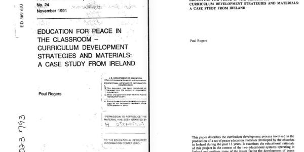 un conflict resolution case study Annex: case studies in conflict prevention        19  2 un general assembly  resolution 60/1 (october 24, 2005), 2005 world summit outcome, un doc.