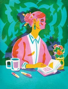This article from Teaching Tolerance observes that it's not unusual for educators to shy away from difficult topics and provides strategies for building teacher's confidence. (Illustration by Kyle Stecker)