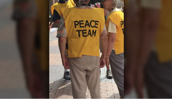 Peace teams at RNC offer active conflict resolution
