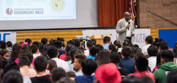 Forest Whitaker Partners with Cal State Dominguez Hills to Teach Middle School Students Peace and Conflict Resolution