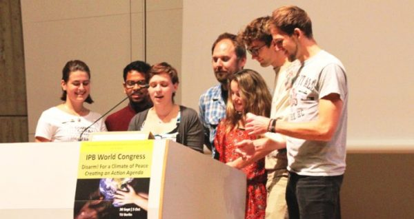 Inspiring Youth demand more space in the Peace Movement