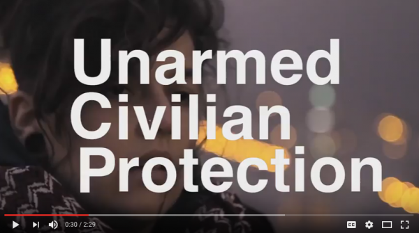 Unarmed Civilian Protection: A Learning Unit on Disarmament Education for Global Citizenship #1