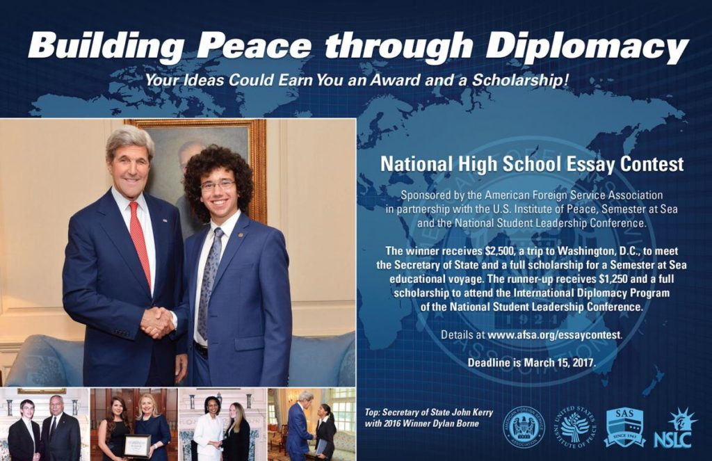 National peace essay contest
