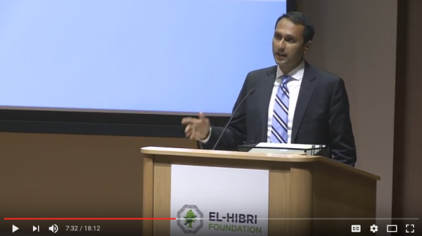 2016 El-Hibri Peace Education Prize Winner Eboo Patel