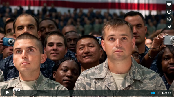A Soldier's Life: a film developed by students questioning military enlistment
