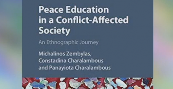 New Book - Peace Education in a Conflict-Affected Society: An Ethnographic Journey