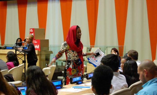 UN NGO Youth-Led Briefing: Targeting Poverty and Education for Peace