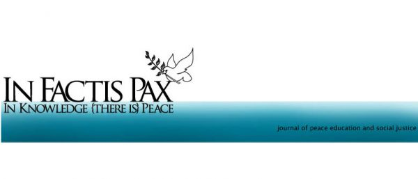 New Issue: In Factis Pax (Volume 10 Number 1, 2016)