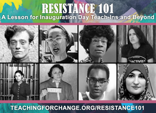 Resistance 101: A Lesson for Inauguration Day Teach-Ins and Beyond