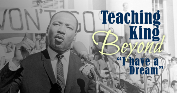 Teaching about Martin Luther King Jr.