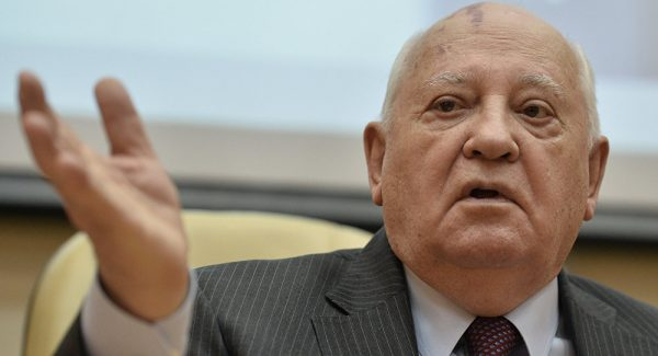 Gorbachev Calls on Nobel Peace Prize Winners to Push Nuclear Disarmament Agenda