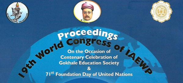 Report of the 19th WORLD CONGRESS OF International Association of Educators for World Peace