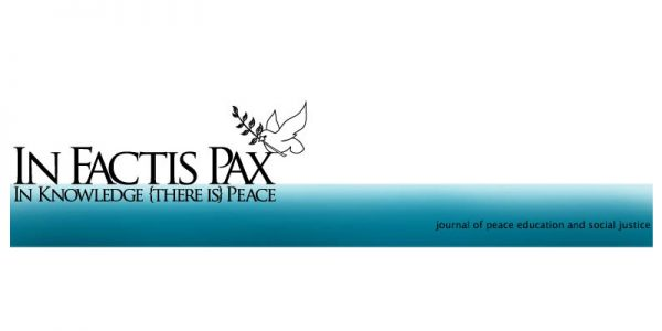 Call for Papers: Special Issue of In Factis Pax on Peace Building in Post-Conflict Contexts