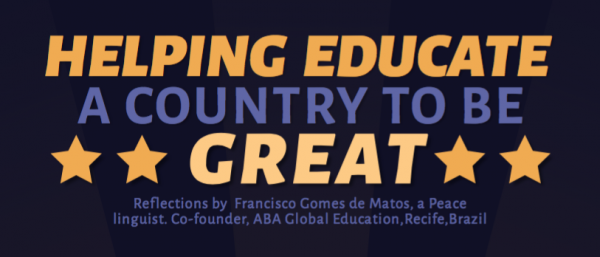 Helping Educate a Country to be Great