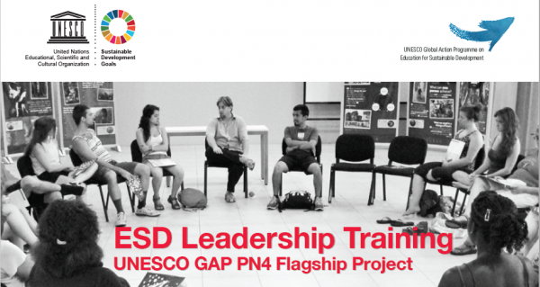 UNESCO ESD Leadership Training, designed by Earth Charter International, is piloted around the world