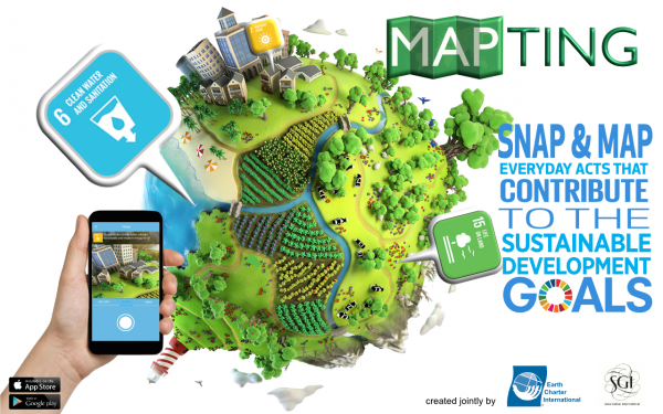 Introducing MAPTING: A free mobile App to discover the Sustainable Development Goals