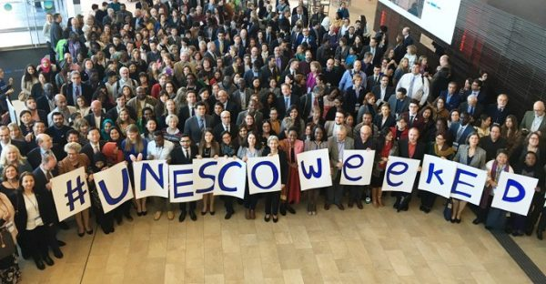 Education connects peace and development in sustainable ways says Director-General at UNESCO Week opening