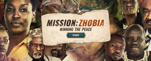 """Virtual Immersion Training For Peacebuilders: """"Mission Zhobia – Winning The Peace"""""""