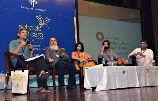 "Touchstones of learning and living: observations from ""Schools That Care"" conference (Bangalore, India)"