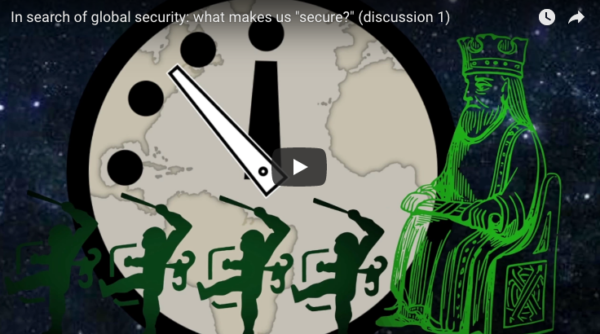 "STUDY WAR NO MORE Spotlight! In search of global security: What makes us ""secure?"""