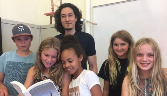 Peace Advocate Brings Lessons of Understanding To Middle School
