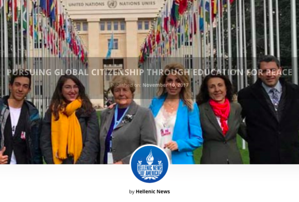 Pursuing Global Citizenship through Education for Peace