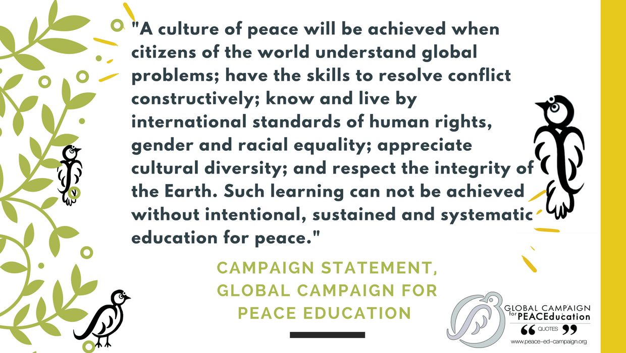 Invitation To Contribute Quotes To Support Our Peace Education