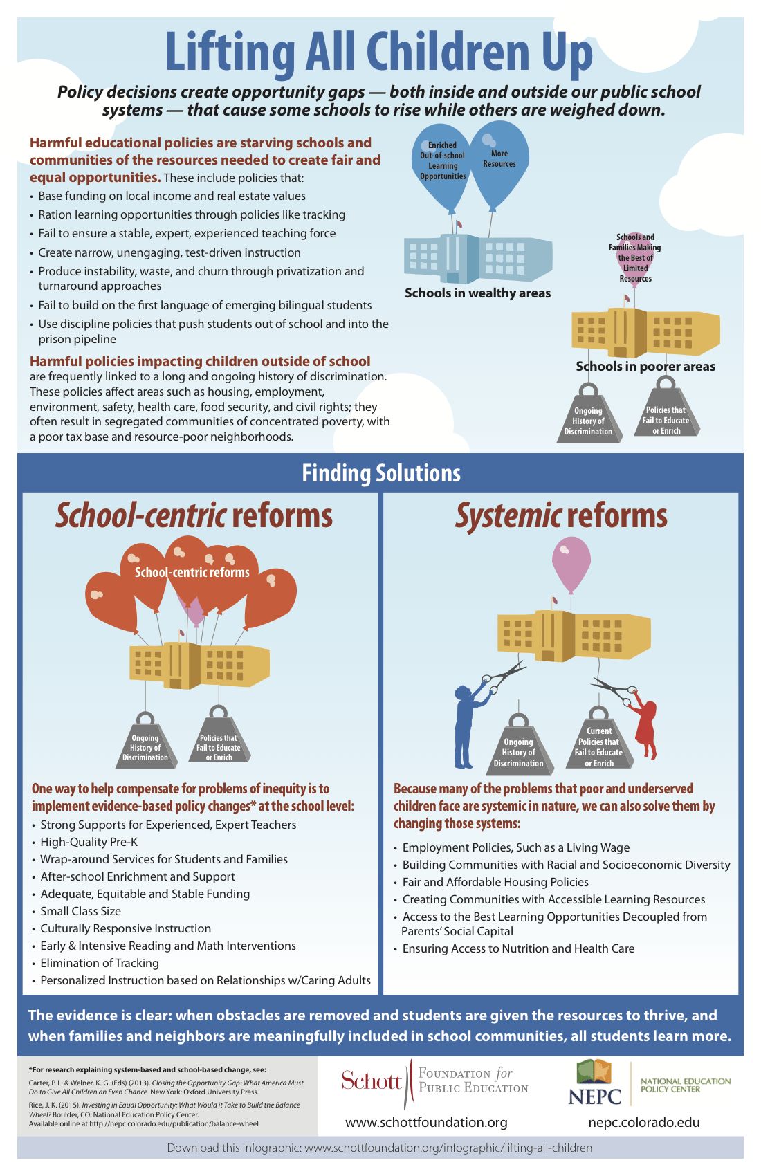Lifting All Children Up - National Education Policy Center