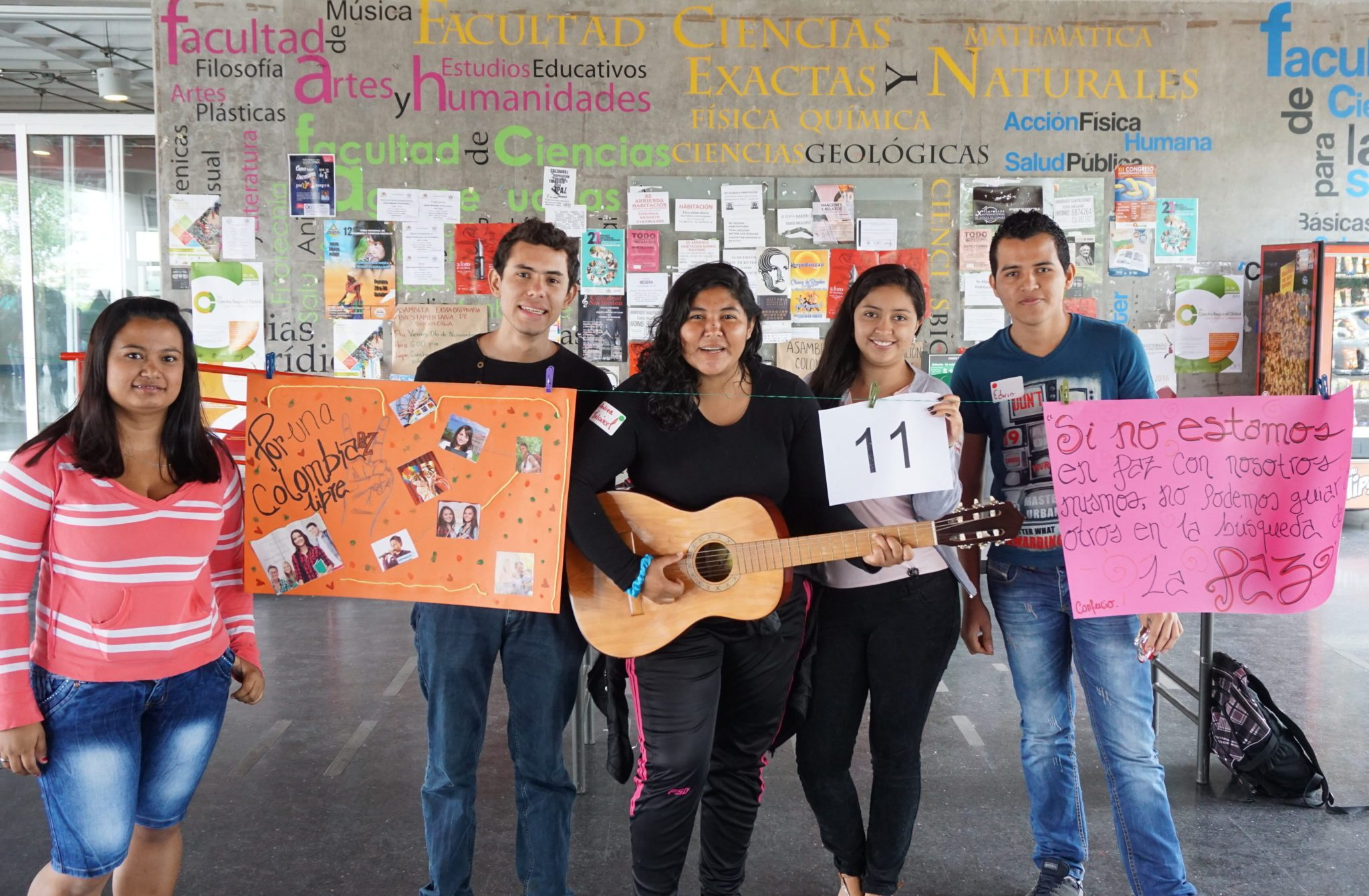 Building peace from Colombian universities - Global Campaign for